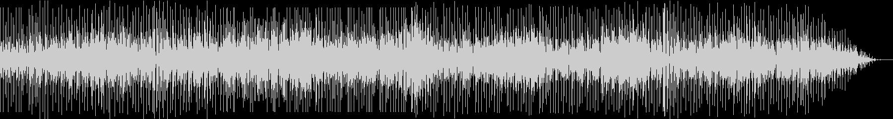 ソプラノサックスのお洒落なフュージョンの未再生の波形