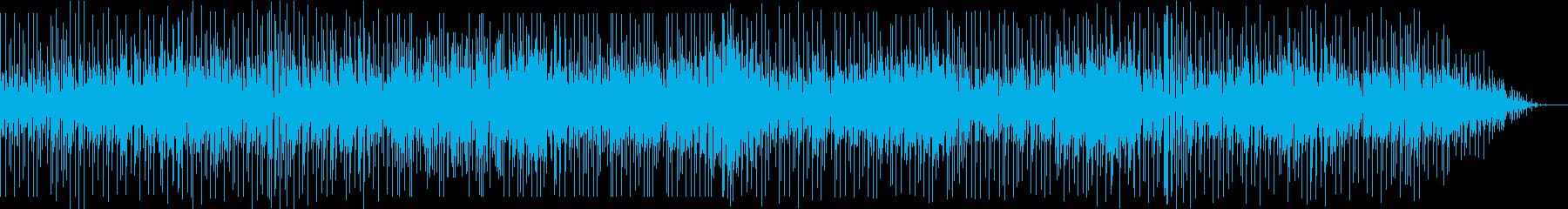 ソプラノサックスのお洒落なフュージョンの再生済みの波形