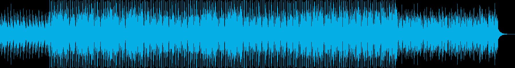 口笛とウクレレの楽しい楽曲の再生済みの波形