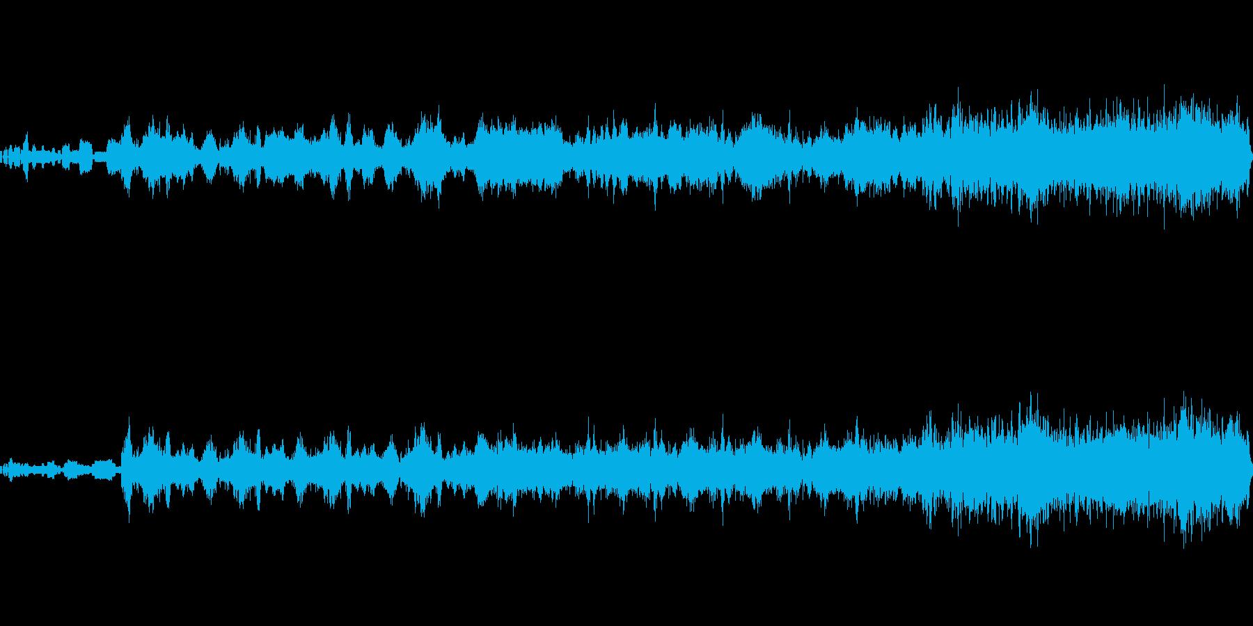 宇宙コード3の再生済みの波形