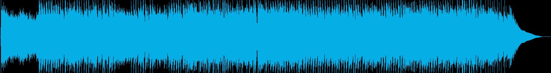 80年代歌謡曲風の再生済みの波形