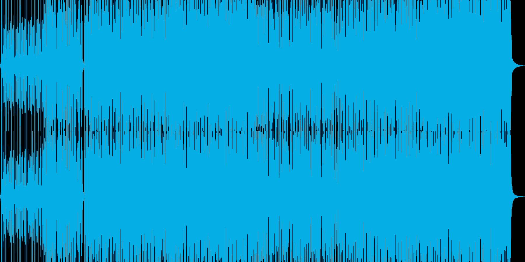 陽気で風変わりなポップロック音楽の再生済みの波形