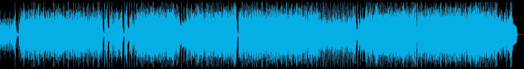 笛・太鼓がメインのポップな和風の再生済みの波形