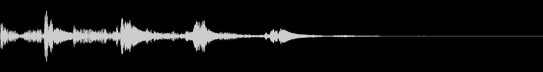 ステータス画面でのパラメータ調整SEの未再生の波形