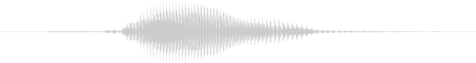 【数字】5(ご)の未再生の波形
