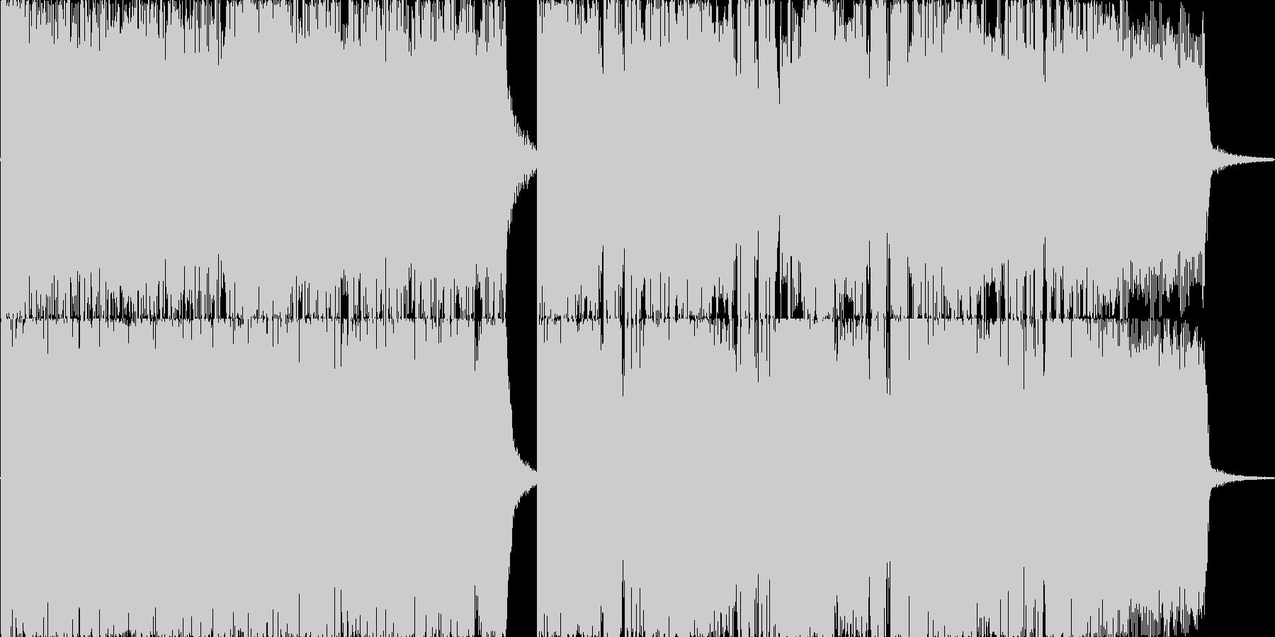 メタルジングルSE!登場やオープニングにの未再生の波形