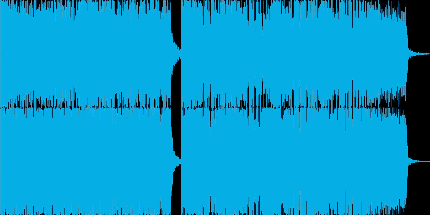 メタルジングルSE!登場やオープニングにの再生済みの波形