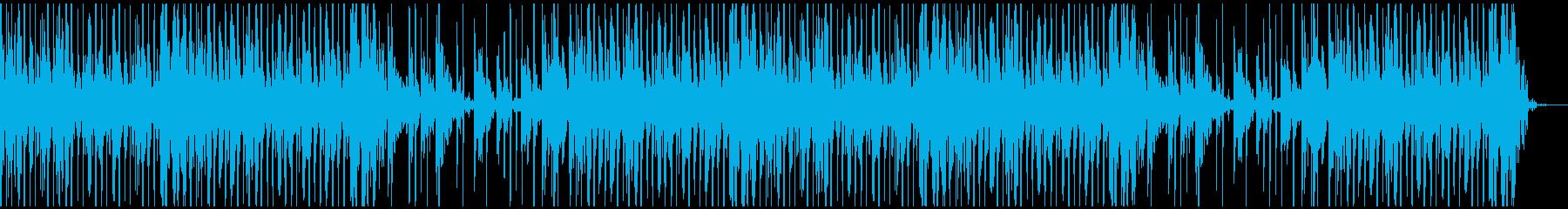 幻想的/サイバーなコーラスと軽快なビーツの再生済みの波形