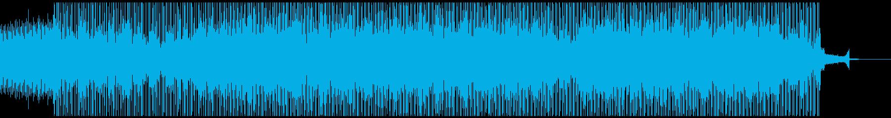 進化を続ける宇宙的な曲の再生済みの波形