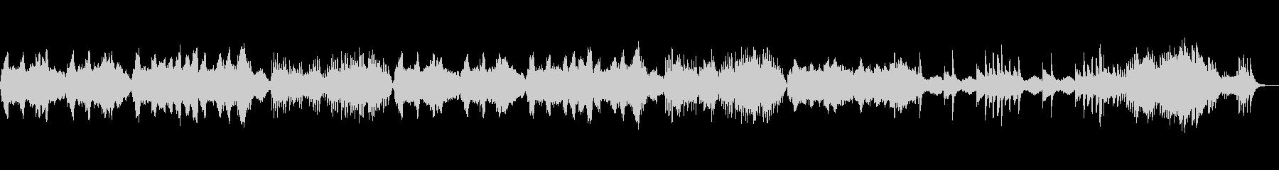 ホラーテイストのオーケストラ の未再生の波形