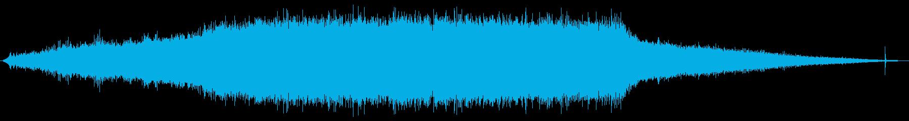 遠心分離機:開始、中速での運転、シ...の再生済みの波形