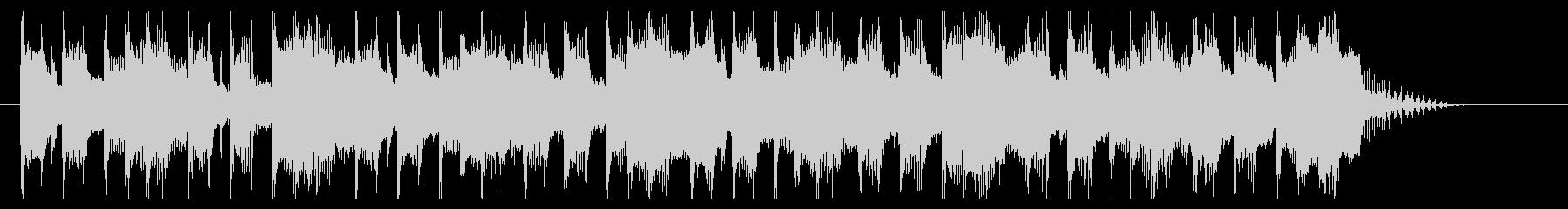 コミカルでクイズのシンキングタイム的な曲の未再生の波形