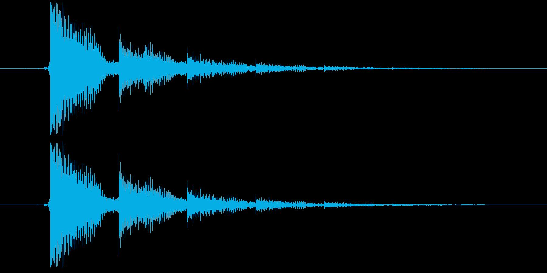エレキギター(タイトルバック)の再生済みの波形