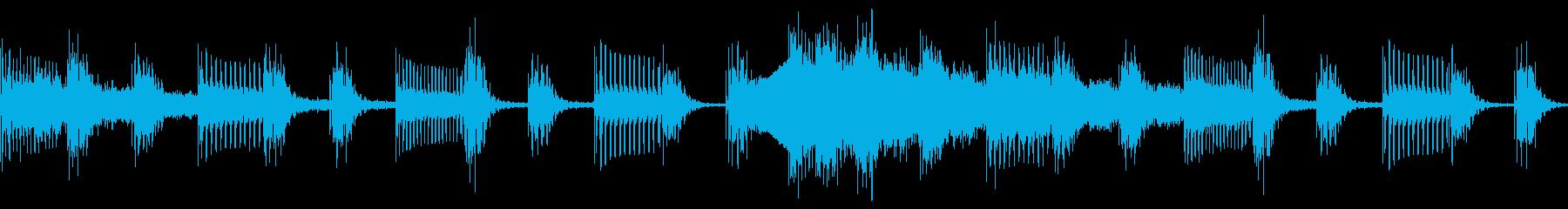 レトロチックで神秘的なBGM の再生済みの波形