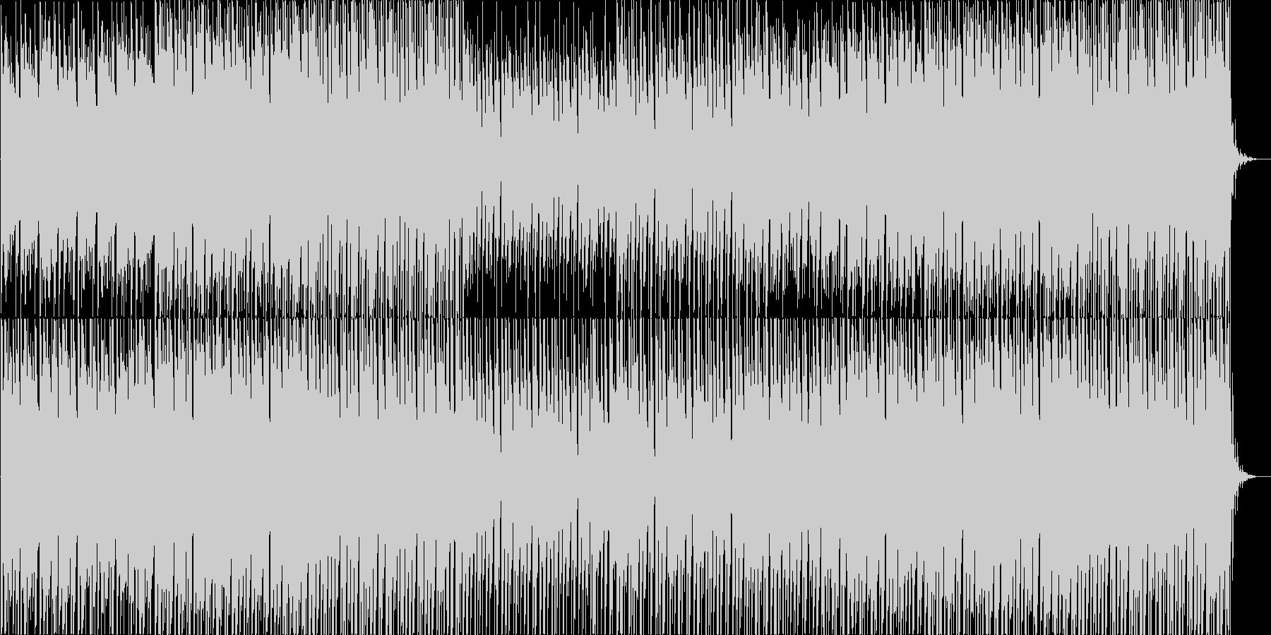 近未来系で軽快なダウンテンポEDMポップの未再生の波形