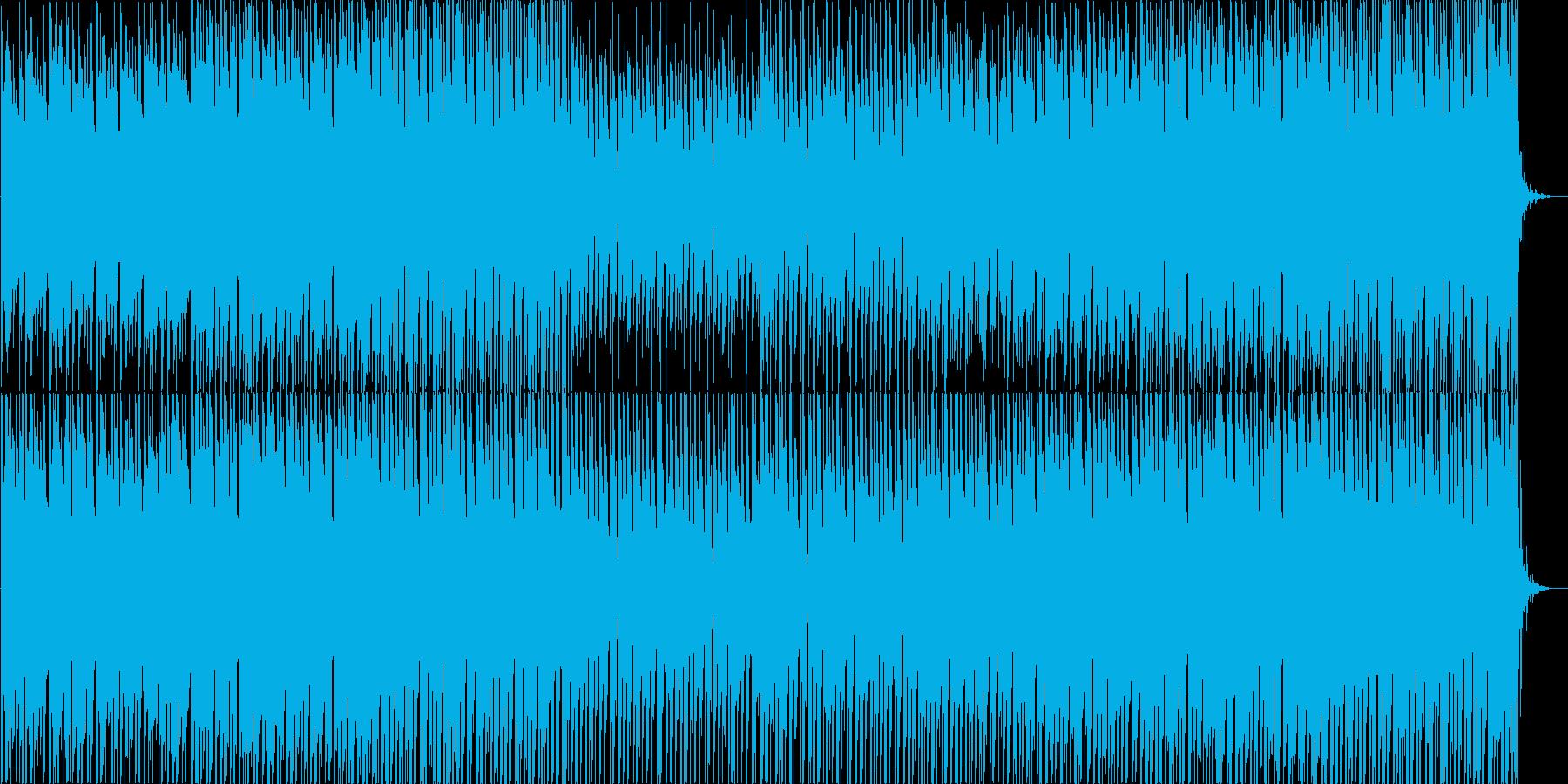 近未来系で軽快なダウンテンポEDMポップの再生済みの波形