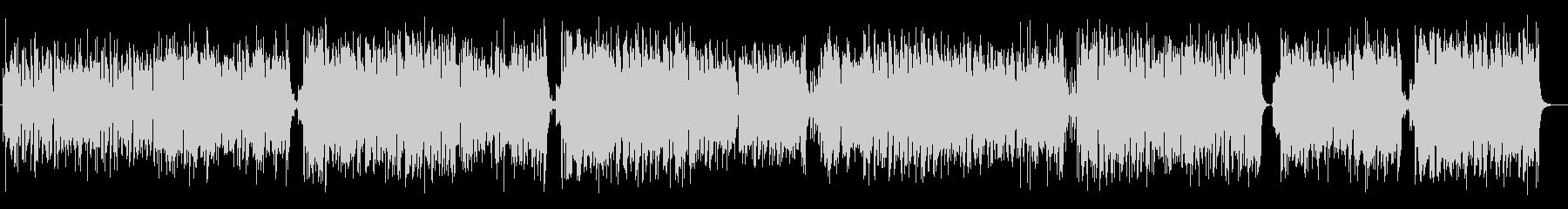 ハービー風ファンクジャズフュージョンの未再生の波形