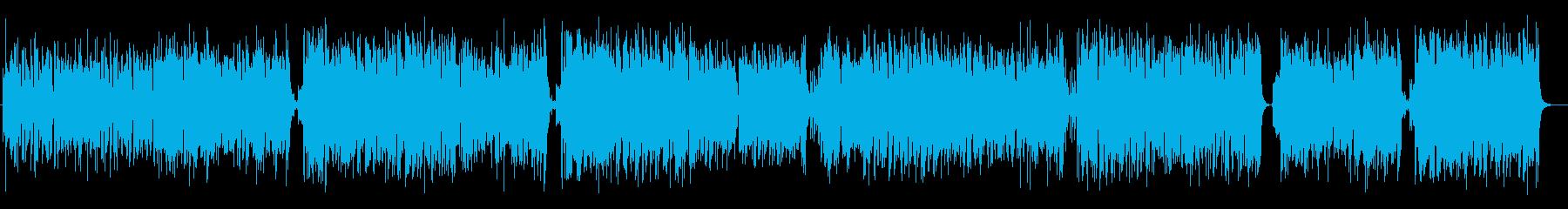 ハービー風ファンクジャズフュージョンの再生済みの波形