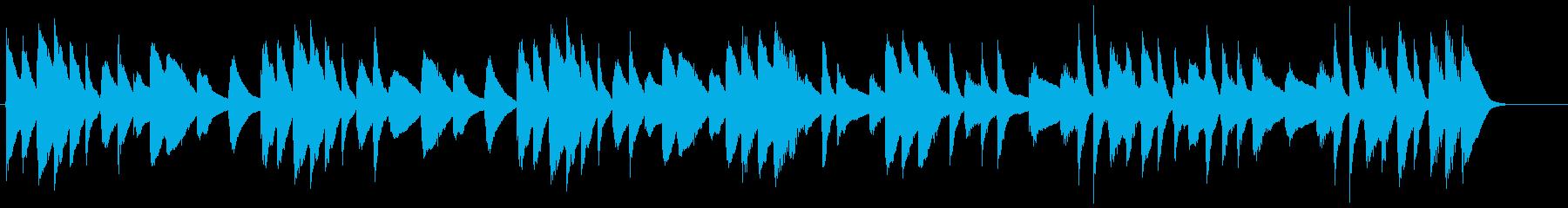 動画広告 30秒 マリンバ 日常の再生済みの波形