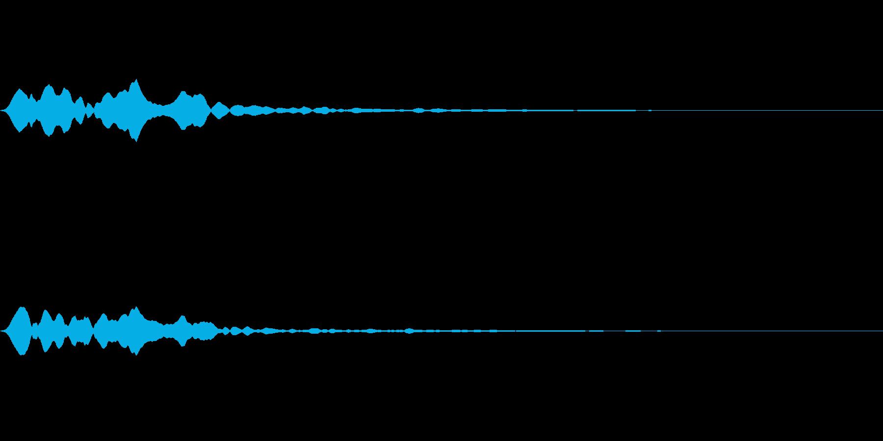 シューン(オンマウス05)の再生済みの波形