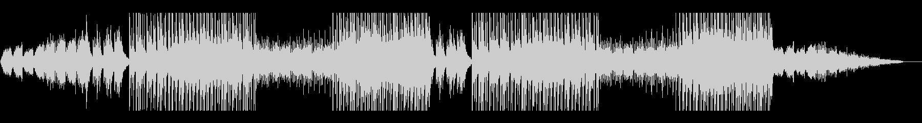 ピアノと弦楽器を使用した切ないトラックの未再生の波形