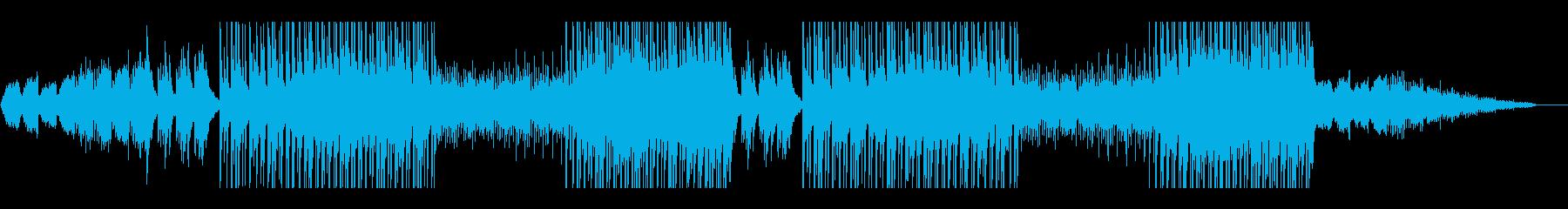 ピアノと弦楽器を使用した切ないトラックの再生済みの波形