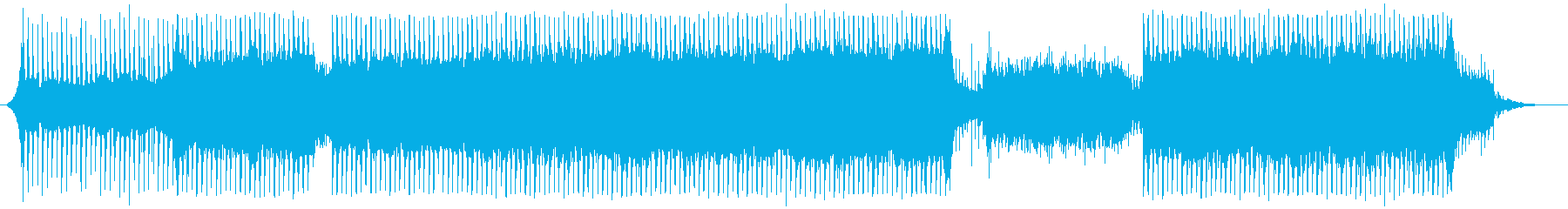 【CM・企業VP】爽やかで涼しげなBGMの再生済みの波形