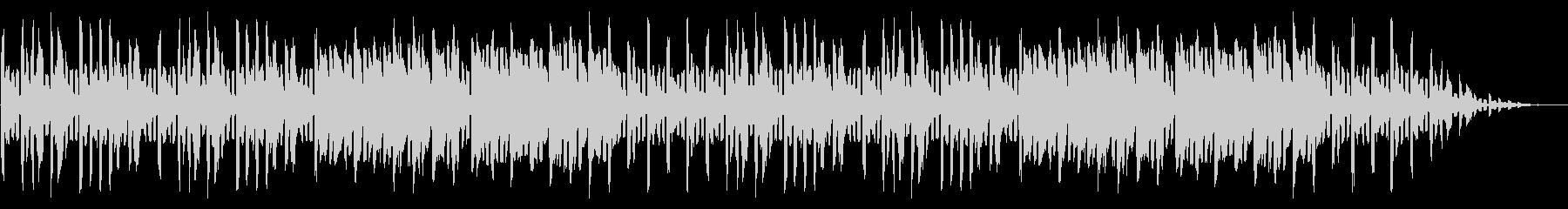 GB風シューティングのエンディング曲の未再生の波形