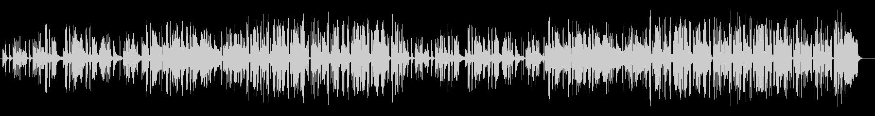 ほのぼのしたのどかなサウンドの未再生の波形