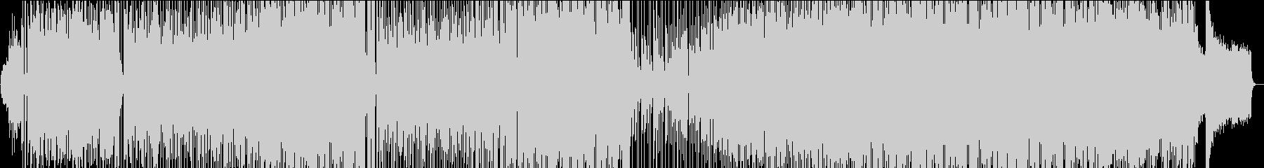 祝福感あるポップでカラフルなBGMの未再生の波形