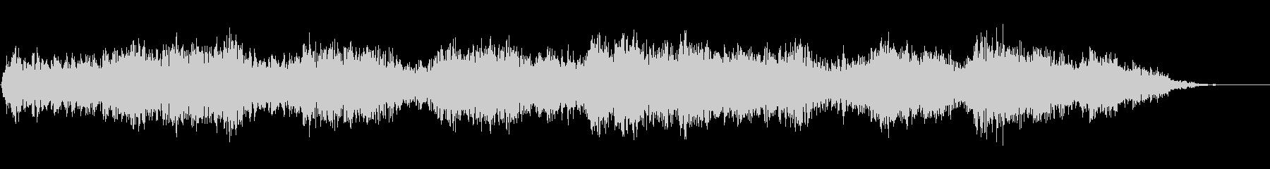 背景音 ホラー 9の未再生の波形