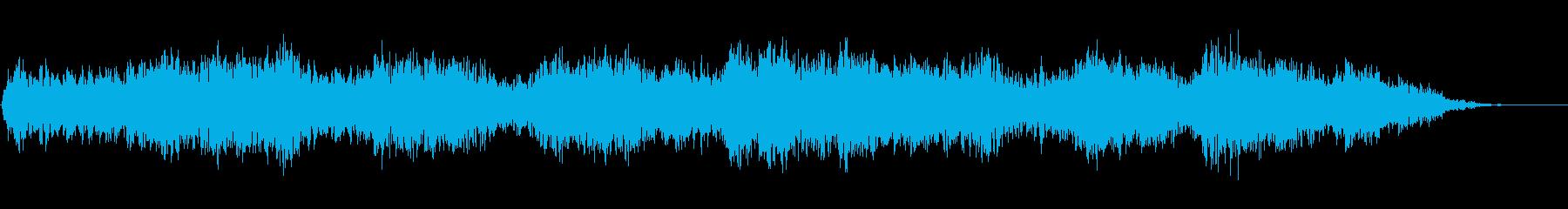 背景音 ホラー 9の再生済みの波形