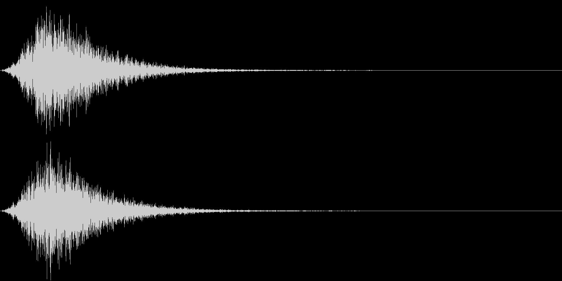 Battle 戦闘エフェクト音 1の未再生の波形