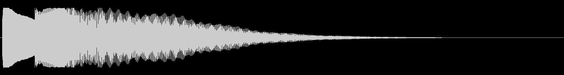アナウンス後 チャイム-1_dryの未再生の波形