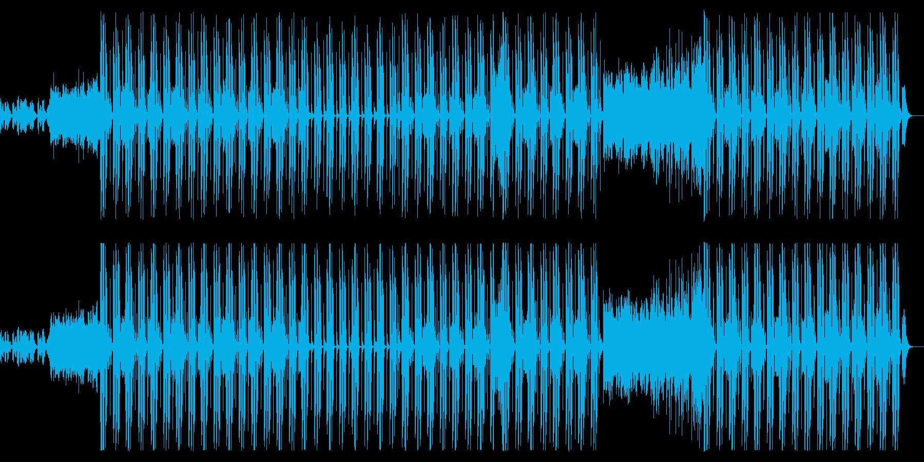 キャッチーなメロディーとポップなビートの再生済みの波形