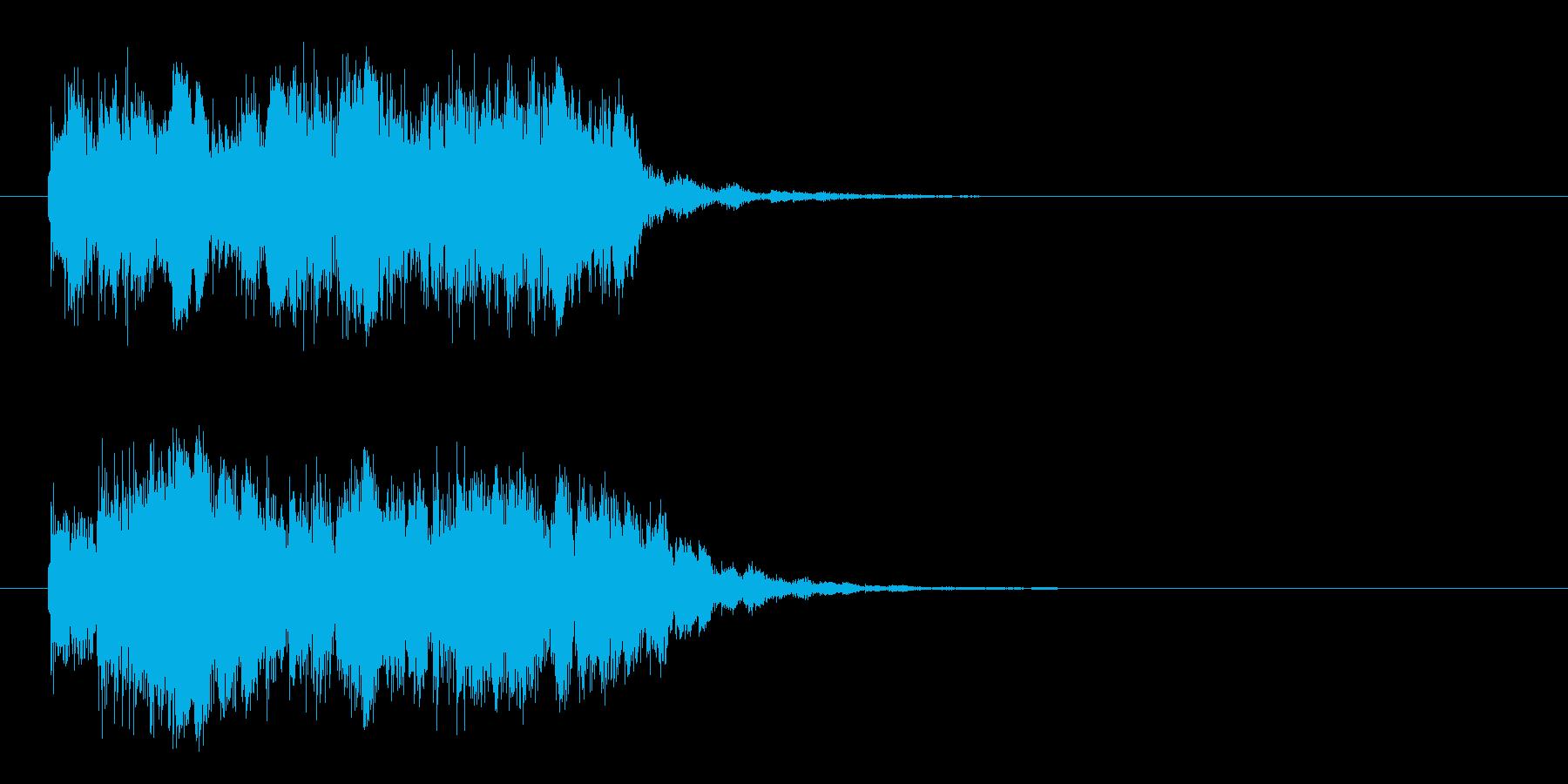 ビンゴ(一列そろったおめでとう!)の再生済みの波形