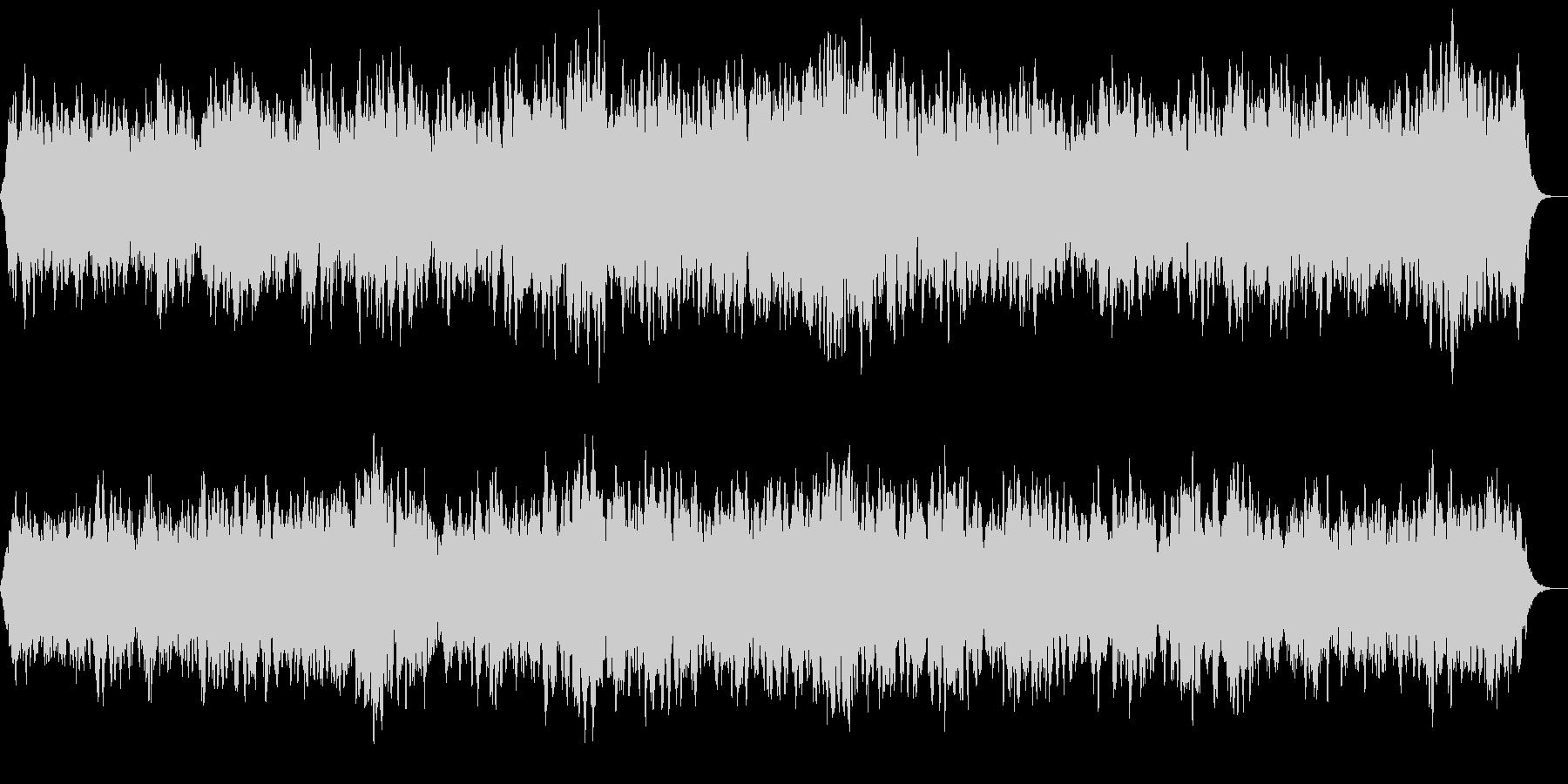 清らかなアカペラ合唱風ヒーリングBGMの未再生の波形