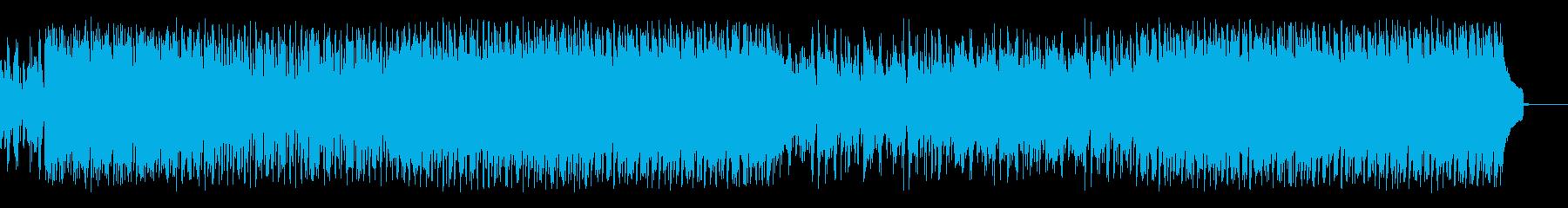 王道・津軽三味線ロックの再生済みの波形