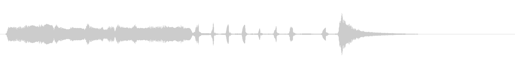 【生演奏】アコーディオンジングル38の未再生の波形