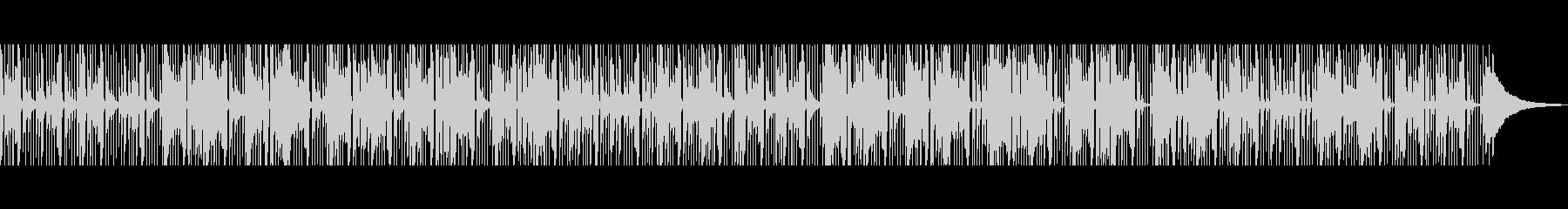 ほのぼの 素朴でゆったりとしたアコギの未再生の波形
