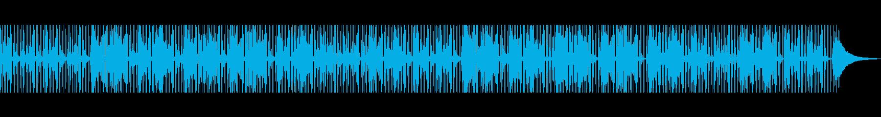ほのぼの 素朴でゆったりとしたアコギの再生済みの波形