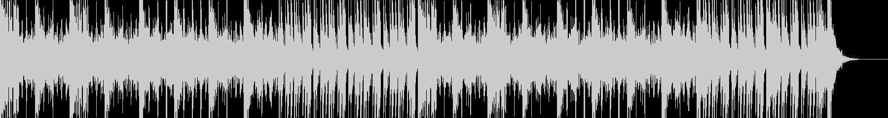 和太鼓と掛け声の未再生の波形