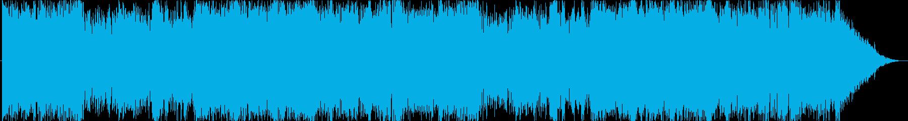 通常戦闘ループ可。疾走感あるオーケストラの再生済みの波形