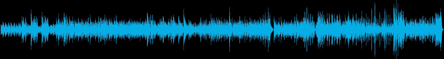 怒り(ソロピアノ・不穏・怖い・暗い)の再生済みの波形