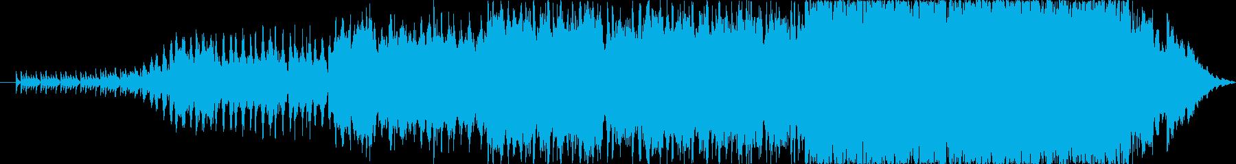 オーケストラの編成で草原をイメージに作…の再生済みの波形