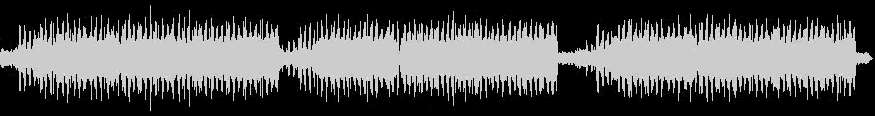 シューティングゲーム風BGMロングmixの未再生の波形