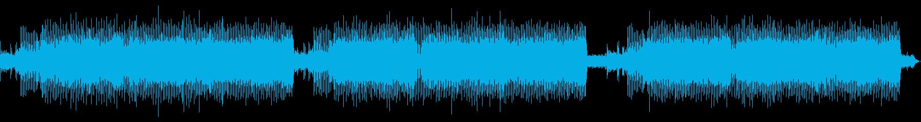 シューティングゲーム風BGMロングmixの再生済みの波形