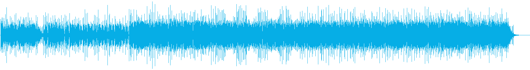 Eピアノやキーボードが際立つJAZZ調の再生済みの波形