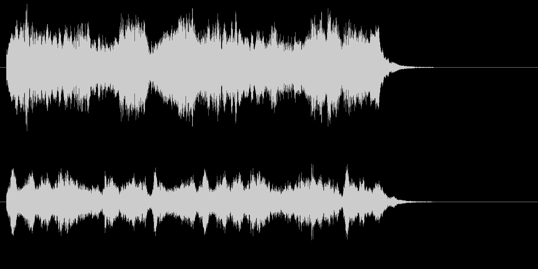 室内楽のワルツ、イージーリスニングの未再生の波形