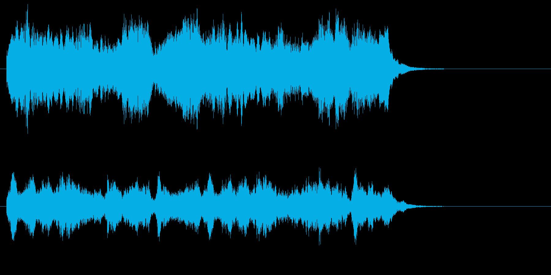 室内楽のワルツ、イージーリスニングの再生済みの波形